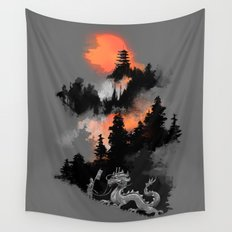 A samurai's life Wall Tapestry