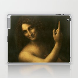 Leonardo da Vinci - Saint John the Baptist Laptop & iPad Skin