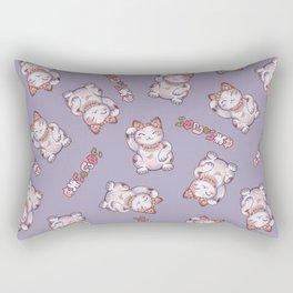 Hanami Maneki Neko: Shun Rectangular Pillow