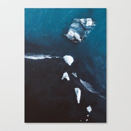 Diamond Beach - Iceland Canvas Print