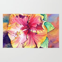 Tropical Hibiscus 13 Rug
