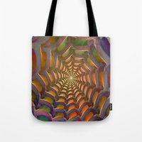 stargate Tote Bags featuring Stargate by Klara Acel