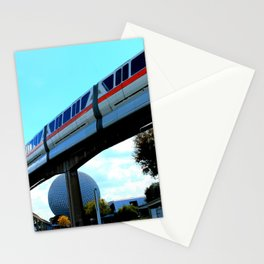Highway in the Sky Stationery Cards
