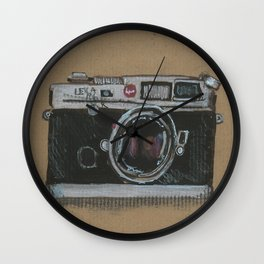 Diddie Doodle the Camera Wall Clock