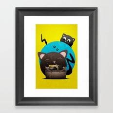 Mommacat Framed Art Print