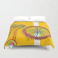 bike Duvet Covers featuring Bike by Rceeh