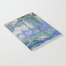 """Claude Monet """"Water Lilies(Nymphéas)"""" (9) 1916–19.jpg Notebook"""