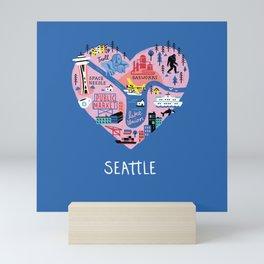 Seattle Mini Mini Art Print
