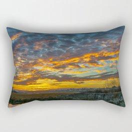 Back Bay Sunrise Colors v Rectangular Pillow