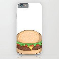Cheeseburger Pixel iPhone 6s Slim Case