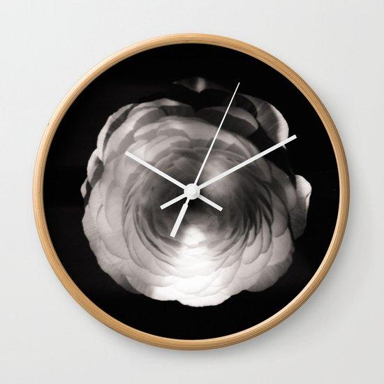 Mapplethorpe Ass Flower Wall Clock