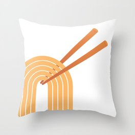 Double Chops Throw Pillow