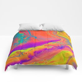 Psychedelic dream Comforters