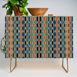 Moroccan Braided Abstract Credenza