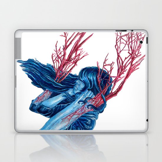 Her Arms Became Trees Laptop & iPad Skin