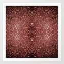 Beautiful Glam Marsala Brown-Red Glitter sparkles by pldesign
