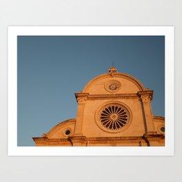Sibenik Cathedrale Art Print