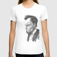 lincoln T-shirts featuring Lincoln 50 by David Sparvero