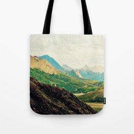 Denali Mountains Tote Bag