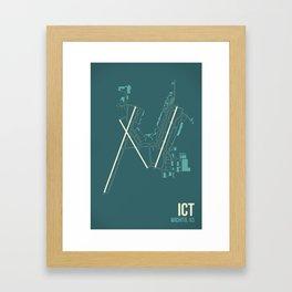 ICT Framed Art Print