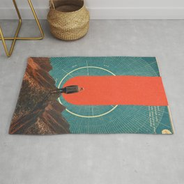 The only Compass is Observance Rug