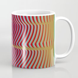 OpArt WaveLines 2 Coffee Mug