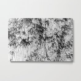 Bamboo Inverted Metal Print