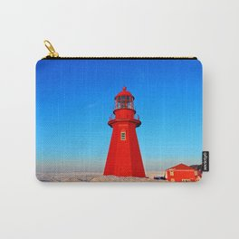 Lighthouse  and Frozen Sea Carry-All Pouch