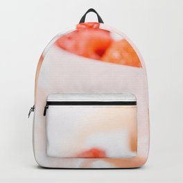 Macaron And Strawberry Wedding Cake, Delicious Photo, Birthday Party, Anniversary Celebration, Art Backpack