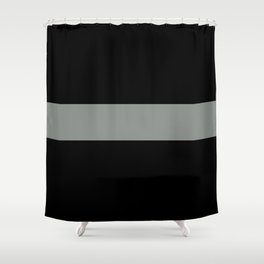 The Thin Grey Line Shower Curtain