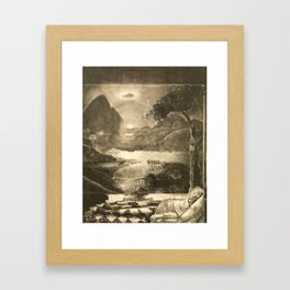The Return to Life, 1913 by George Bellows Framed Art Print