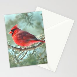Dreamy Morning (Northern Cardinal) Stationery Cards