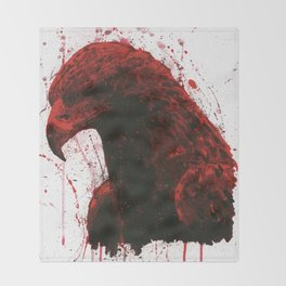 Red Eagle Throw Blanket