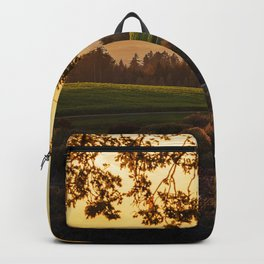 Meadow and Pond Landscape Backpack