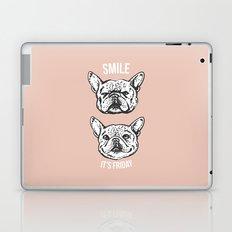 Smile It's Friday Frenchie Laptop & iPad Skin