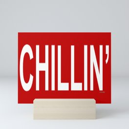 CHILLIN Good Vibes Mini Art Print