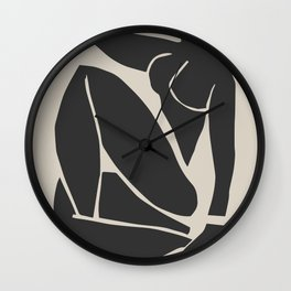 Henri Matisse | Nu Bleu III  Wall Clock