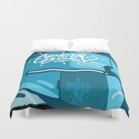 crystal Duvet Covers featuring CRYSTAL by clogtwo