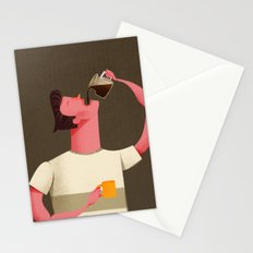 Coffee Drinker Stationery Cards