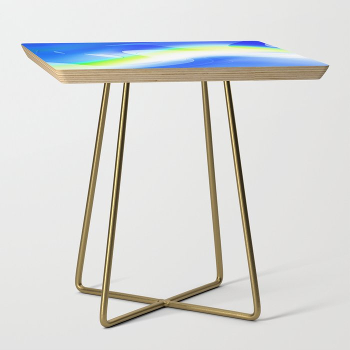 """'70's Lava Lamp"" Photograph Side Table"