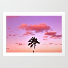 Lone Palm Art Print