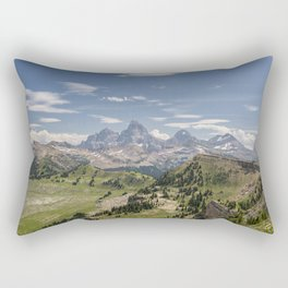 Different View of the Tetons / Teton Valley, Idaho Rectangular Pillow