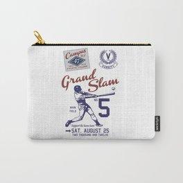 Baseball Grand Slam Vintage Design. Carry-All Pouch