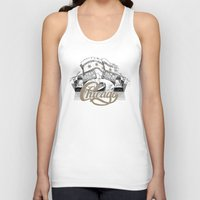 chicago Tank Tops featuring Chicago by pakowacz