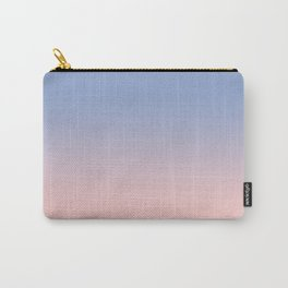 Pantone Rose Quartz and Serenity Ombre Carry-All Pouch