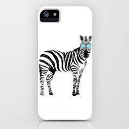 Cool Zebra iPhone Case