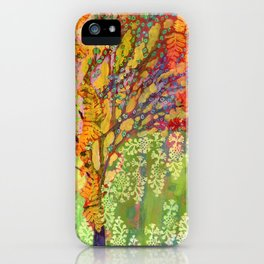 Immersed in Summer iPhone Case