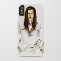 louis iPhone & iPod Cases featuring Louis by Myrtle Quillamor