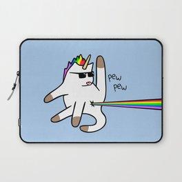 Unicorn Cat Rainbow Butt Laser Laptop Sleeve