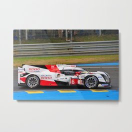 TS050 Hybrid 24 Hours of Le Mans 2016 Metal Print